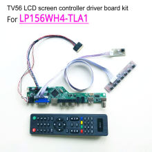 "Para LP156WH4-TLA1 15.6 ""tela lcd do portátil 1366*768 40 pinos lvds wled hdmi/vga/av/áudio/rf/usb tv56 controlador driver board kit(China)"