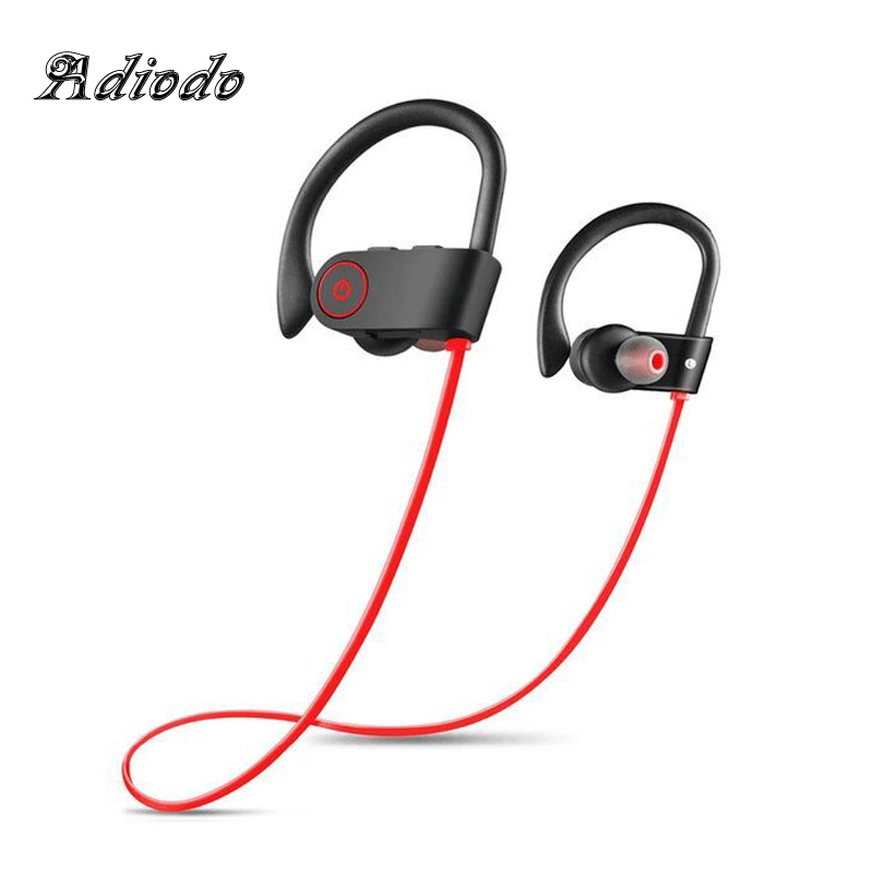 Bluetooth earphone headphone Wireless Earphones with Mic Bass stereo Earbuds Active Noise Cancelling Sports headset for iphone 7 bluetooth earphone wireless stereo super bass hifi headset waterproof noise cancelling earbuds with mic for iphone xiaomi huawei