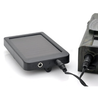Hunting Camera Battery Solar Panel Charger External Power For Trail Camera HC300M H500G