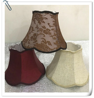 Lamp shade for table Abstract flower Pattern Textile Fabrics Decorative E27 table lamp shade fashionable bedroom lamp cover