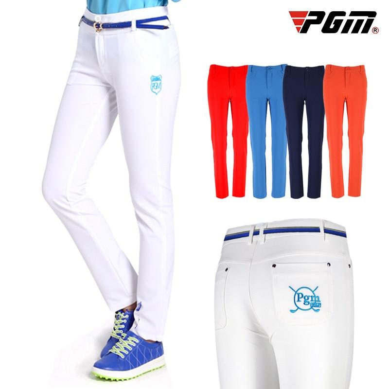 ¡Enviar cinturón! Ropa ultradelgada pantalones largos para mujer Pantalones de carrera de tenis pantalones de ocio ajustado de ajuste seco pantalones de Golf Pantalones deportivos