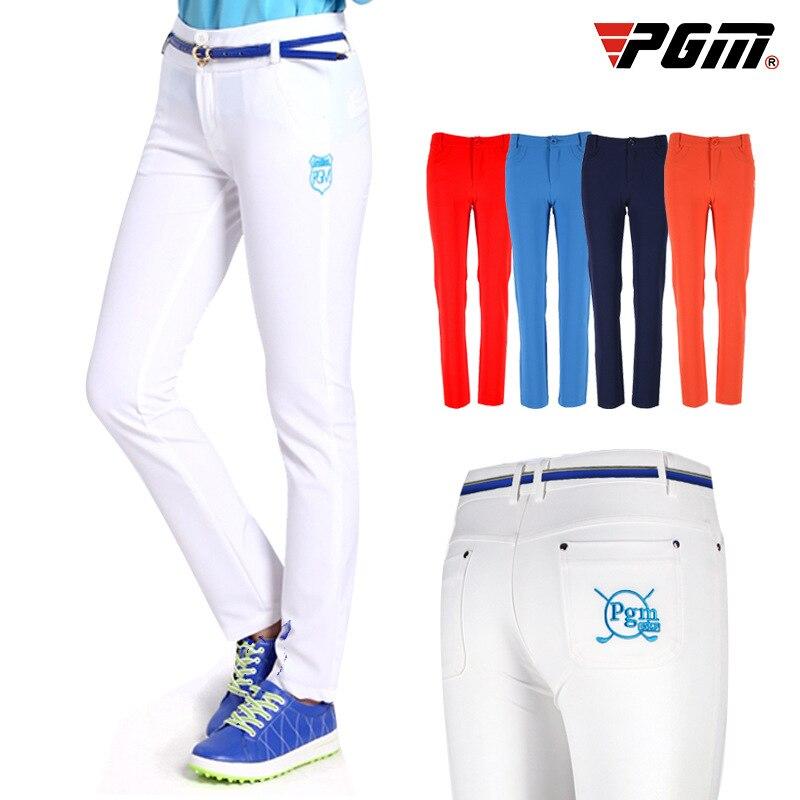 Senden Gürtel! Kleidung Ultra-dünne Volle Lange Hosen Frauen Tennis Run Hosen Freizeit Schlanke Trockenen Fit Golf Hosen Sportswear Hosen