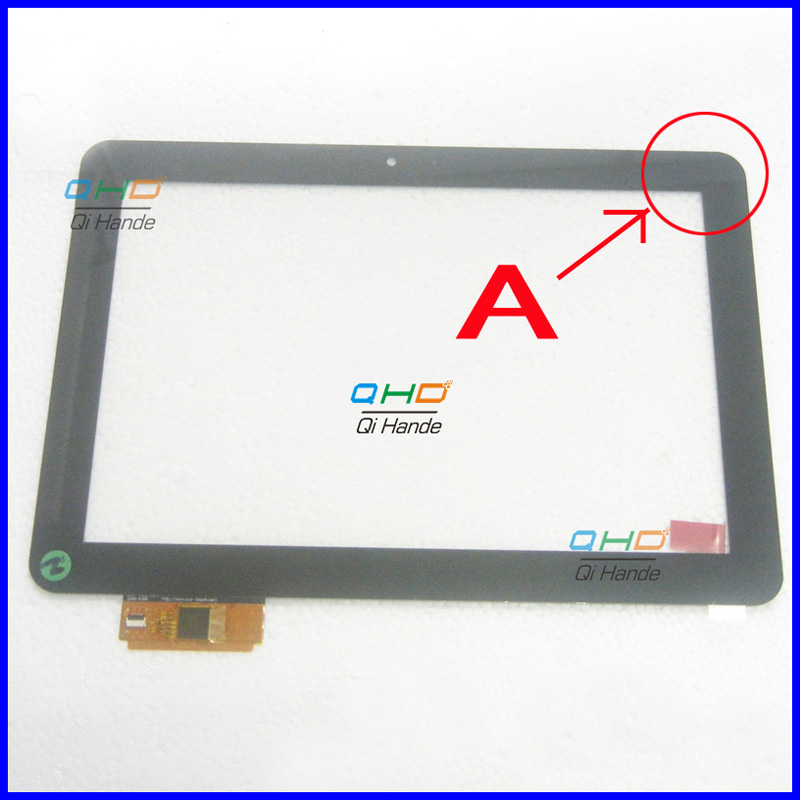 Black New For 10.1 inch DNS AirTab MF1011 Tablet touch screen panel Digitizer Glass Sensor replacement Free Shipping new 7 inch tablet capacitive touch screen replacement for dns airtab m76 digitizer external screen sensor free shipping