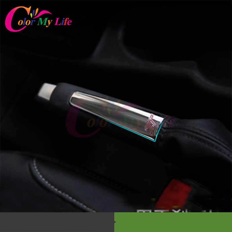 1 Piece ABS Chrome Xe Tay Phanh Protection Trim Trang Trí Phanh Tay bìa Sticker cho Ford Focus 2 3 MK2 MK3 2005-2012