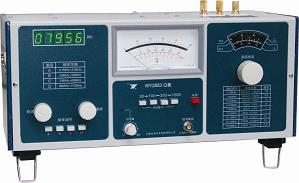 Fast arrival WY2853 Digitel Q Meter high frequency impedance measuring instrument 0.7Hz-100MHz in 6 ranges 5 LEDs display
