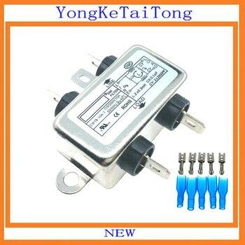1 piezas de filtro EMI CW1B-10A-T 10A 115 V 250 V CW1B 50/60 HZ