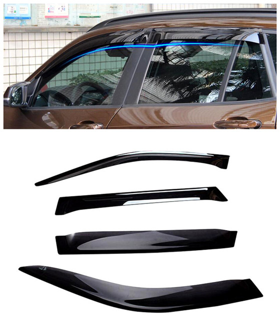 For BMW X5 F15 2014 2015 Car Window Visor Vent Shade Rain/Sun/Wind Guard 4pcs/set