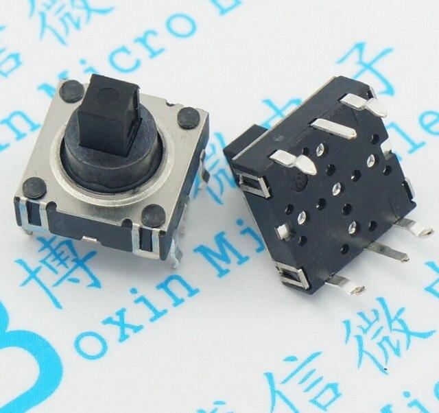 10 pcs/Cinq way switch Multi direction commutateur de Réinitialisation Tact Commutateur 10*10*10 6 Broches DIP