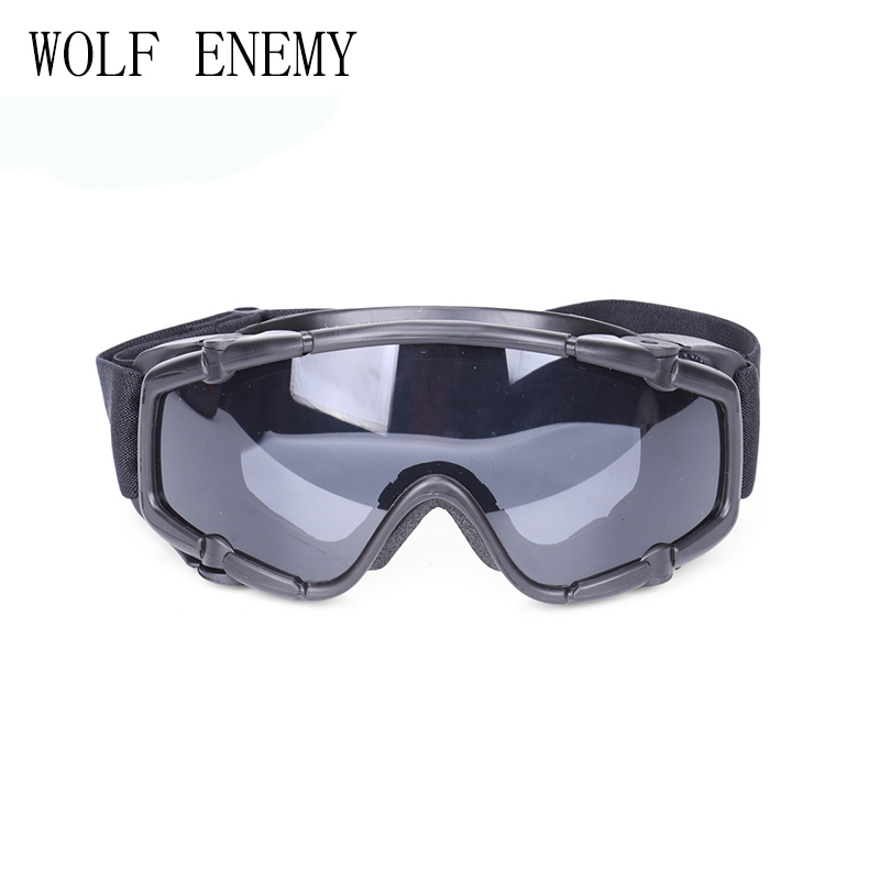 Tactical Goggles With Fan Glasses Airsoft Anti-fog Durable Nylon Protector For Paintball Outdoor Hunting Gear BK/DE
