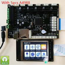 MAKER BASIS STM32 MKS Robin integrated circuit mainboard Robin controller hauptplatine mit TFT display geschlossen quelle software