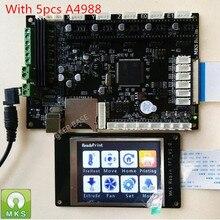 MAKERBASE STM32 МКС Робин integrated circuit платы Робин контроллер материнской платы с TFT дисплеем с закрытыми исходными кодами