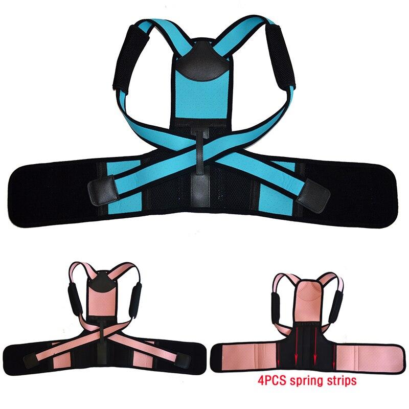 Posture Corrector Breathable Children Back Shoulder Kids Lumbar Waist Support Correction Straighten Upper Corset