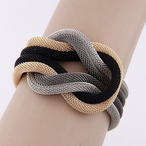 Charm Bracelet Femme Vintage Multi-layer Bracelets & Bangles For Women Bijoux Pu
