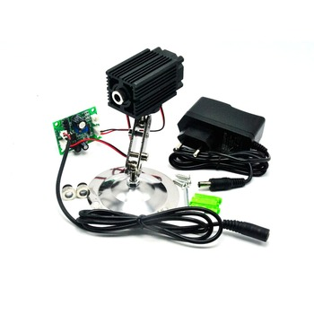 цена на Dot/Line/Cross 980nm Focusable IR Laser Locator Module 100mw Infrared Light w 12V Adapter & Holder