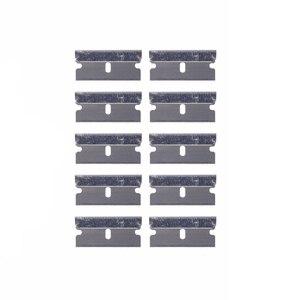 Image 5 - EHDIS – grattoir de rasoir avec lames en acier, outils de teinture, couteau, raclette de fenêtre, autocollant de voiture, Film vinyle, dissolvant de colle, 10 pièces
