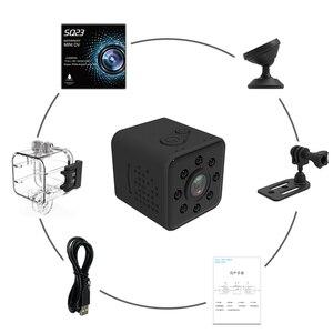 Image 5 - SQ23 HD Wifi Camera Mini Nhỏ Cam 1080P Video Cảm Biến Tầm Nhìn Ban Đêm Máy Quay Micro Camera DVR Máy Quay SQ 23
