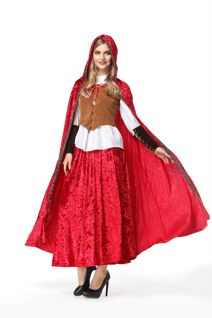 Disfraces Para Halloween De Caperucita Roja.29 42 2018 De Halloween Caperucita Roja Disfraz Para Las Mujeres Clasico Deluxe Sexy Carnaval Princesa Uniformes Mas En Disfraces Fiestas Mujer De