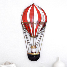 Iron heat balloon muons fashion rustic wall hanging home living room decoration wall decoration