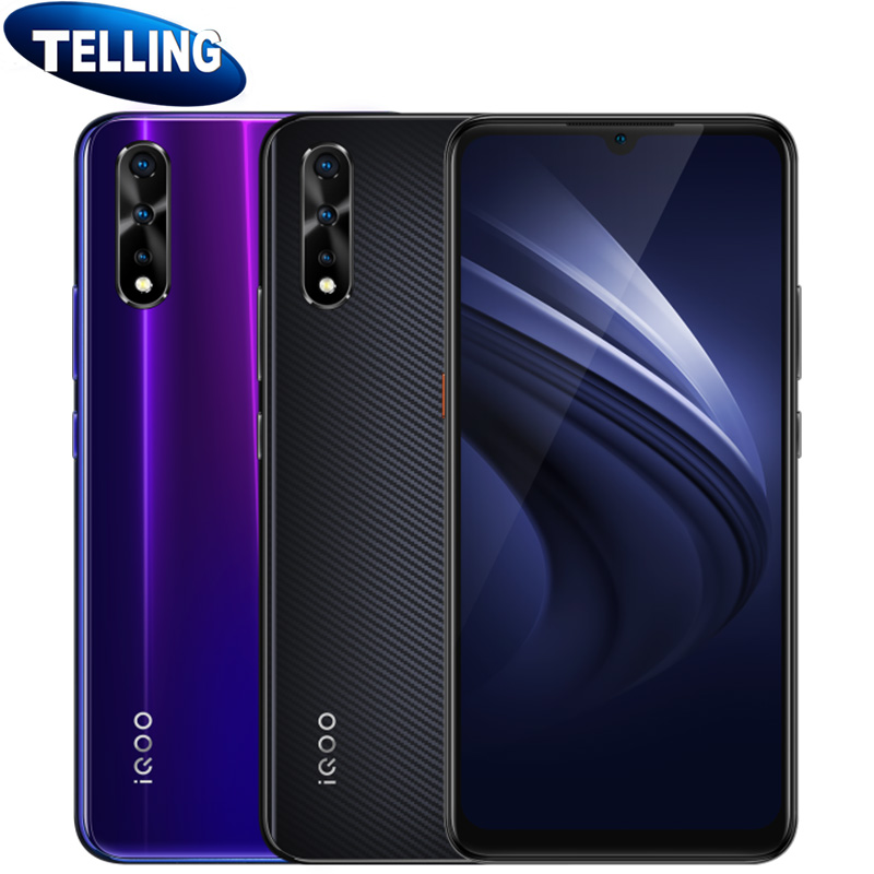 """4500mAh Vivo IQOO Neo Mobile Phone Android 9.0 Snapdragon 845 Octa Core 6.38"""" Super AMOLED 22.5W Fast Charge Screen Fingerprint-in Cellphones from Cellphones & Telecommunications    1"""