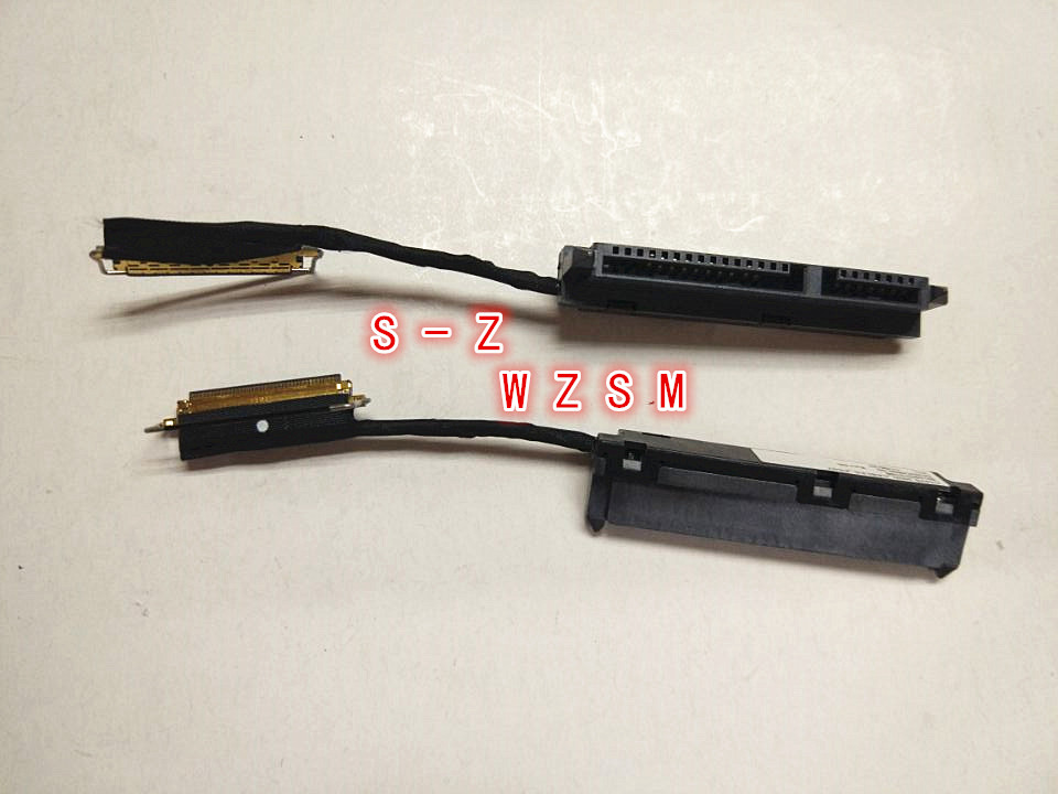 WZSM New HDD Connector Cable For Lenovo Thinkpad T470 T470P Hard Drive Connector DC02C009L00 DC02C009L30 SC10G75198 SC10G75209 new orig laptop hdd sata conector w cable for lenovo thinkpad x230s x240 x240s x250 series dc02c003h00 04x0864 04x0865