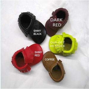 Image 2 - hot sale baby moccasins soft moccs baby shoes Free shipping &Drop shipping Toddler shoes