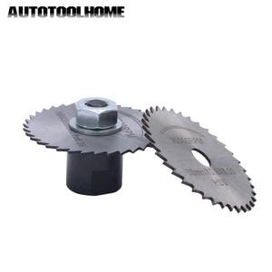Image 5 - Mini scie électrique multifonction 24V cc, ensemble de moteur magnétique à couple élevé, lames de scie circulaire avec support, pour bricolage, jouet de voiture
