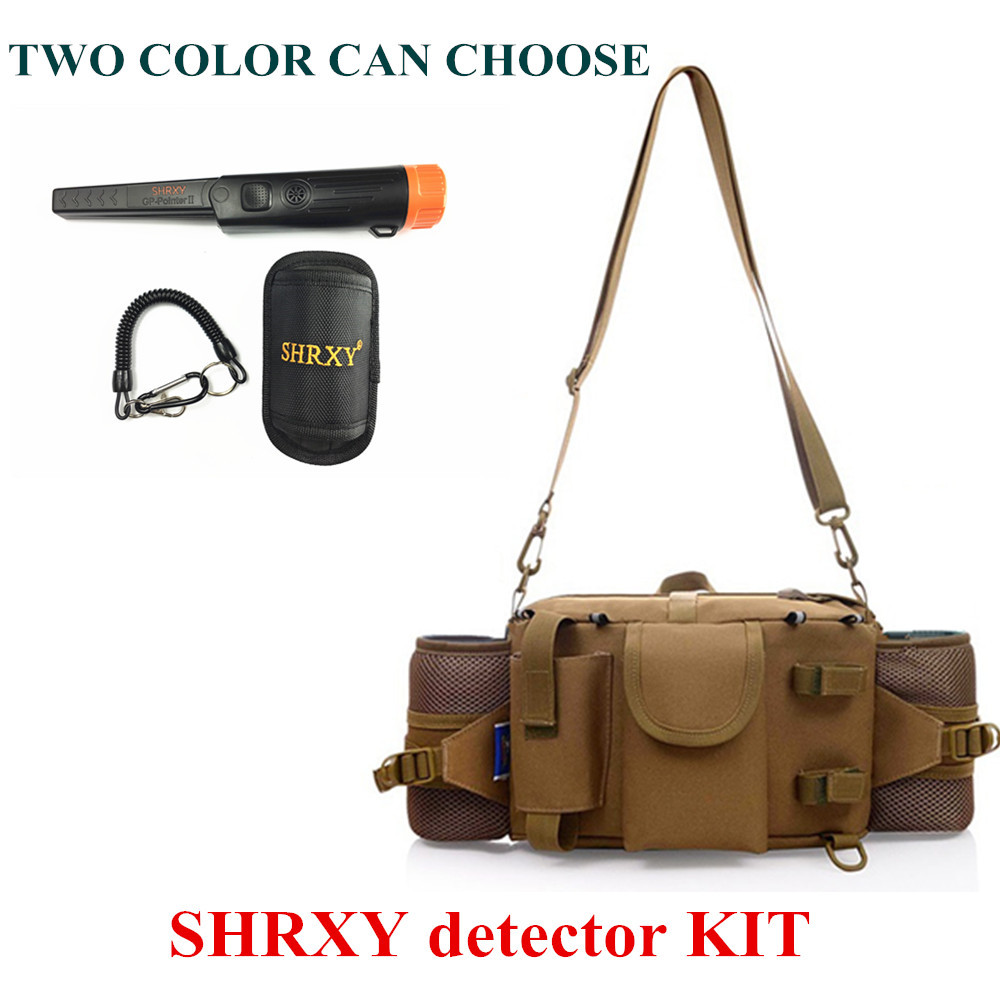 2018 Upgraded Sensitive Gp-pointerII Metal Detector Kit Pro Pinpointing Hand Held Metal Detector With Toolkit Pockets