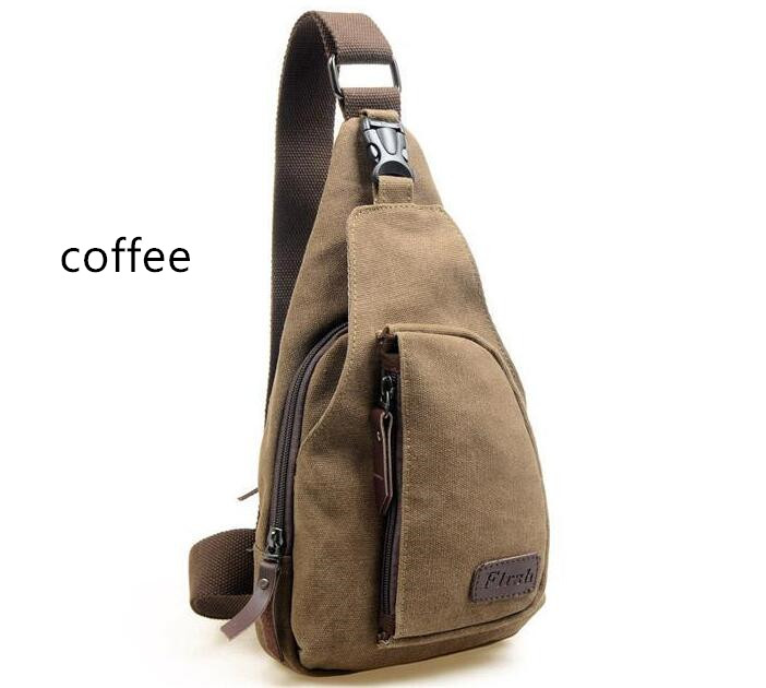 New Canvas Men Messenger Bags Fashion Military Zipper Shoulder Crossbody Bag for Man Solid Casual Bag Coffee Khaki KJG3860#bag