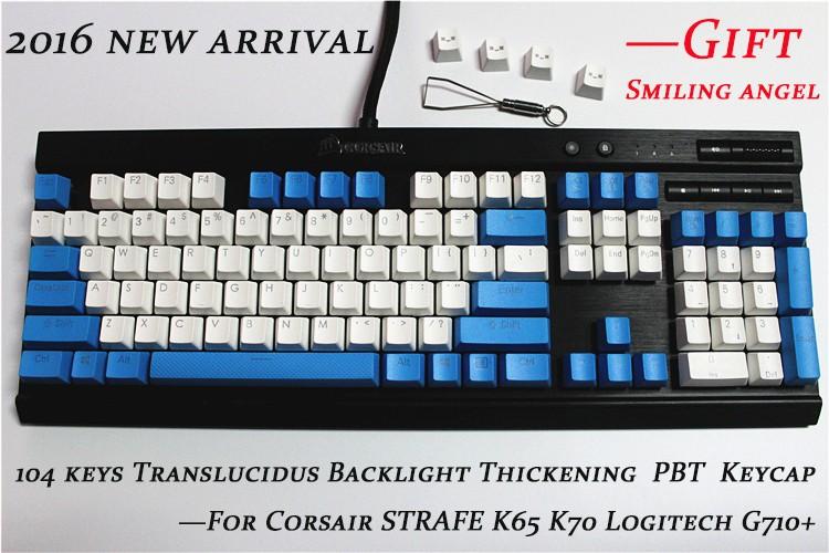Keyboard keycaps 20 Key Translucidus Backlight PBT Caps Lock and Space Bar Big Enter Etc Keycap for Wired USB Mechanical Keyboard Color : Grey