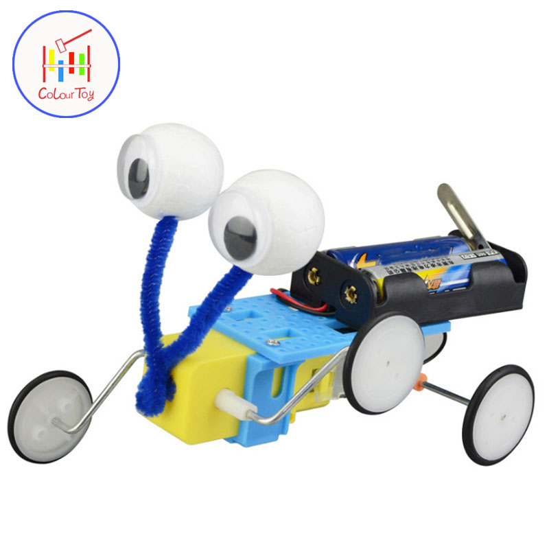 Electric Reptile Robot Kid Science Education Physics Learning Electronic Toy