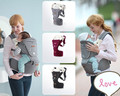New 2016 Cotton Waist Stool Walkers Infant Hipseat Slings Baby Carriers Front Facing Two Shoulder Suspenders Wrap For Mather