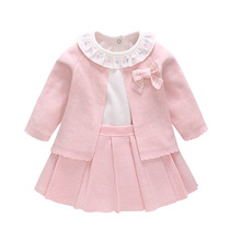 Baby Girl Dress Clothes Set Outfits 3pcs
