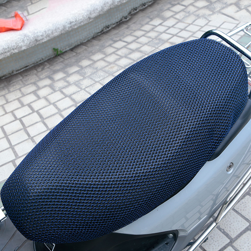 XXXL Motorcycle Cool seat cover Cushion protect Sunscreen Prevent bask sun pad waterproof 3D Mesh Accessories
