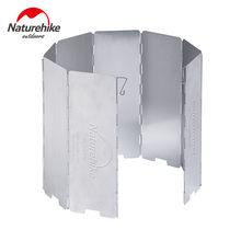 Сверхлегкий складной ветрозащитный экран naturehike 8 тарелок