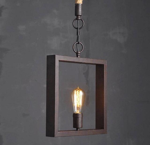 breve lmparas de diseo xido cuadrados colgantes de lmparas de decoracin del hogar de la lmpara