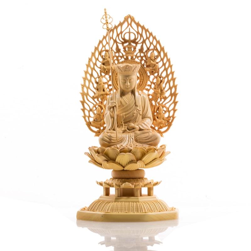 Buda carving Buddha statue Goddess Western budas wood boedha craft Feng shui bouddha buda s for