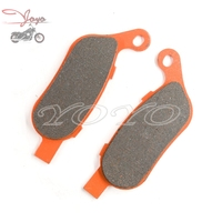Motorcycle Rear Disc Brake Pads For Harley Dyna Low Rider Switchback Super Glide Street Bob Wide