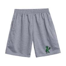 Verano Harajuku Vintage Alien pantalones cortos sueltos