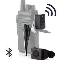 Bluetooth 4.0 Wireless Headset K Type Hands free Earphone For Baofeng Kenwood HYT Wouxun Two Way Radio