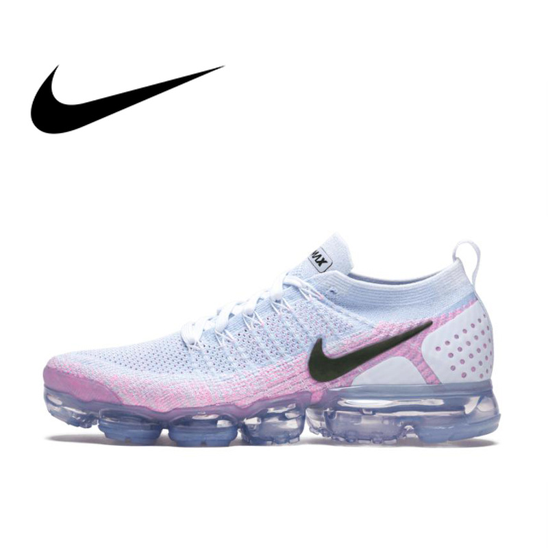 Original authentic NIKE AIR VAPORMAX FLYKNIT 2 women's running shoes sports and leisure sports shoes sports shoes 2019 new