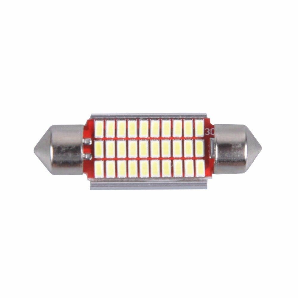 AutoEC C5w 3014 LED Canbus Error Pulsuz Şənbə günbəzi 31/36/39 / - Avtomobil işıqları - Fotoqrafiya 3