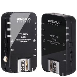 Image 4 - YONGNUO Wireless TTL Flash Trigger YN622 YN 622C II C TX KIT with High speed Sync HSS 1/8000s for Canon Camera 500D 60D 7D 5DIII