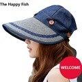 Mujeres del sombrero del sol parasol sombrero de verano sombreros para mujer de sombrero de verano feminino