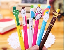 hot sale 6 design cartoon pen 1000pcs pen,promotional pen with free custom logo