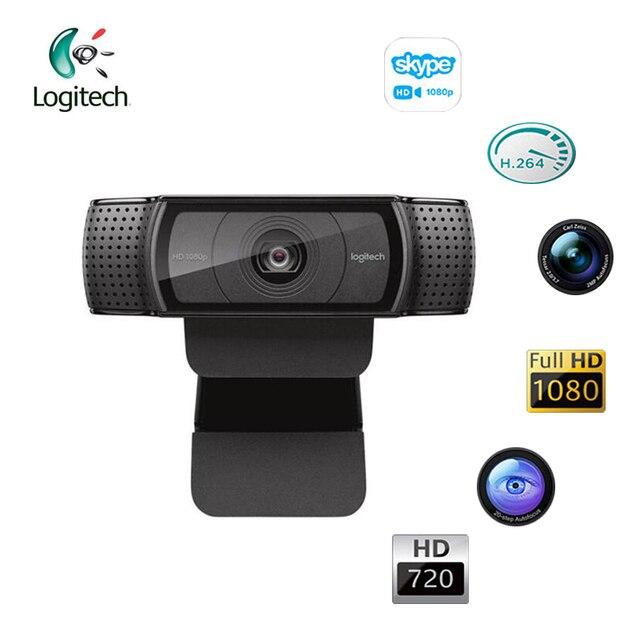 Original Logitech C920E 1080P Camera Support Windon7/8/10 Mac OS Chrome OS Android Auto Fucos Business camera Official test