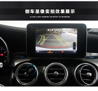 License Plate Backup Camera For Mercedes S class W222 2015 UP with Parking Guide line