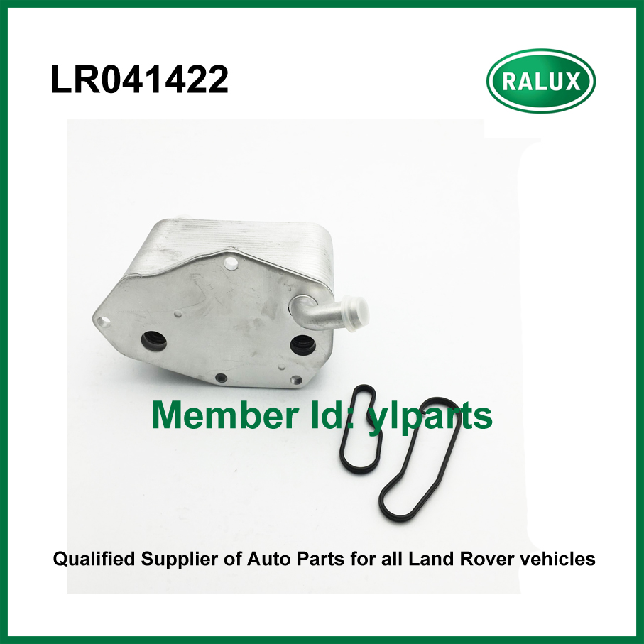 ФОТО LR041422 high quality car oil cooler fit for Freelander 2 2006-auto oil cooler aftermarket engine parts with good retailer price
