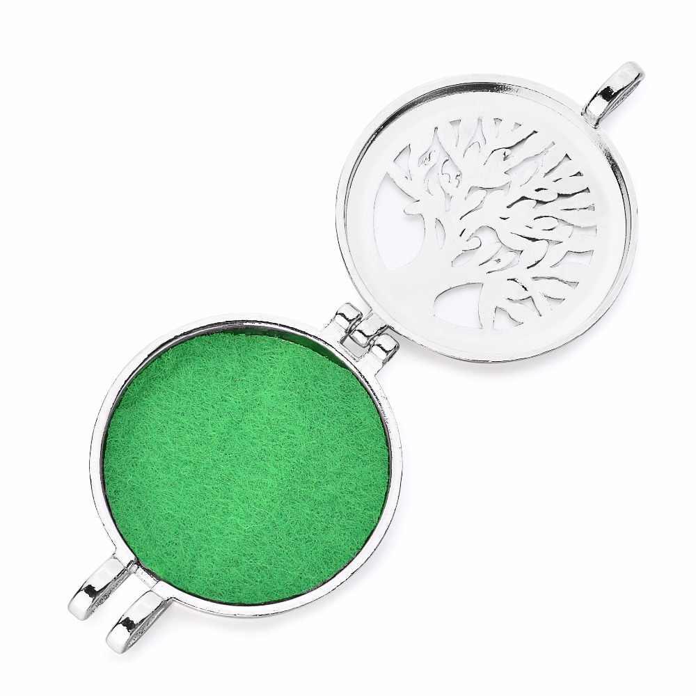 1 шт. из нержавеющей стали цвет подходит 30 мм войлочные прокладки эфирное масло медальон со светорассеивателем кулон ожерелье для ювелирных изделий подарок