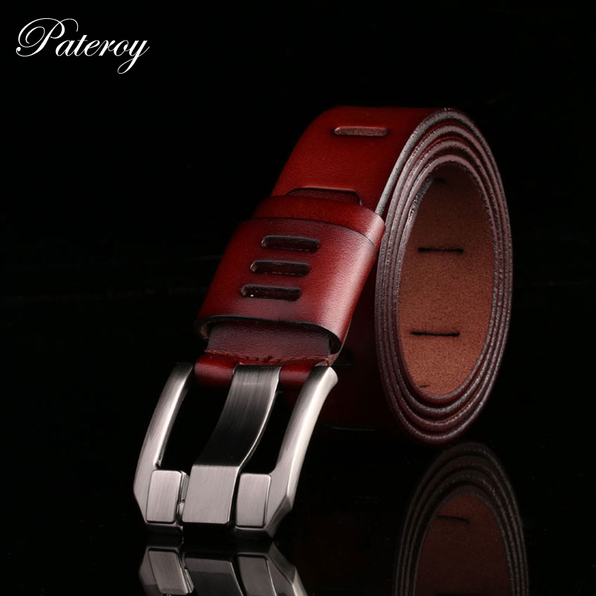 Designer Belts Men High Quality Mens Belt Luxury Genuine Leather Belt Men Cowboy Pin Buckle Cinturones Cinto Masculino Luxo Riem