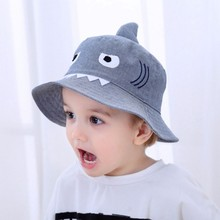 5f2c5af7 Autumn Baby Boys Girls Hat Toddler Cute Cartoon Bucket Hats Caps Sunhat UV  Protection 3-